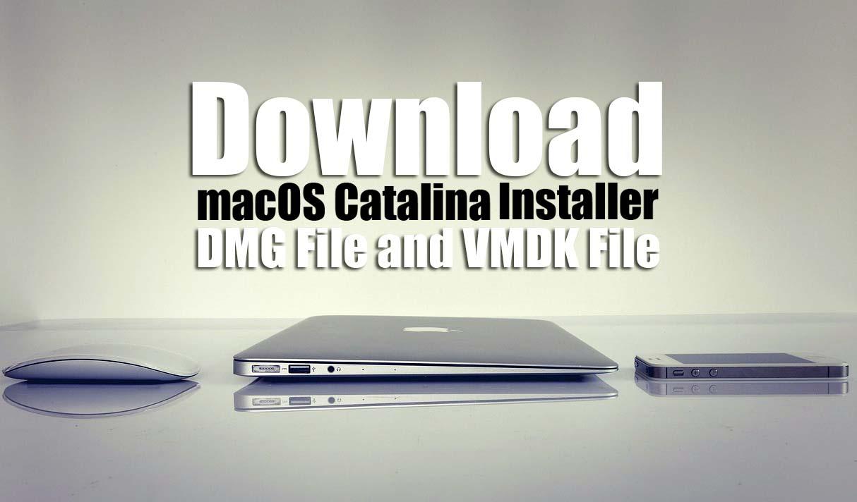 Download macOS Catalina Installer (DMG File and VMDK File)
