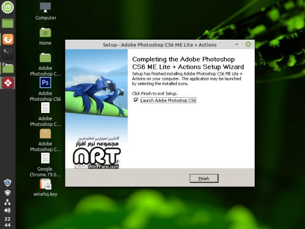 Install Windows software on Linux mint