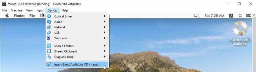 Install macOS Catalina with ISO