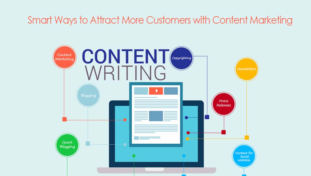 How to write content to attract more customers?