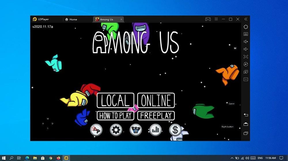 Install Among us on Windows 10