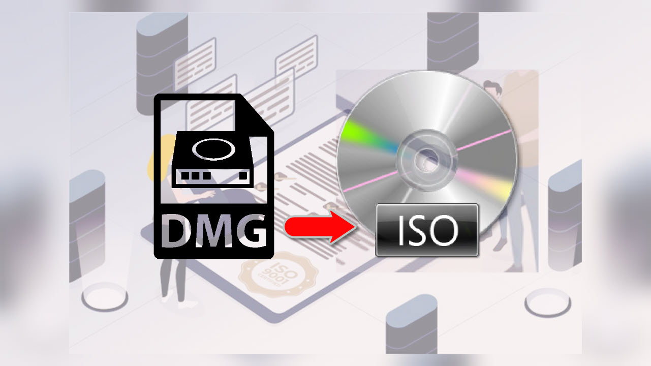 How to Convert DMG to ISO file on Windows