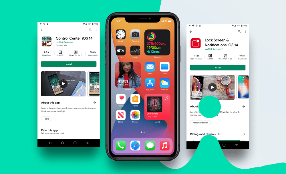 How to make your Android looks like iPhone iOS 14