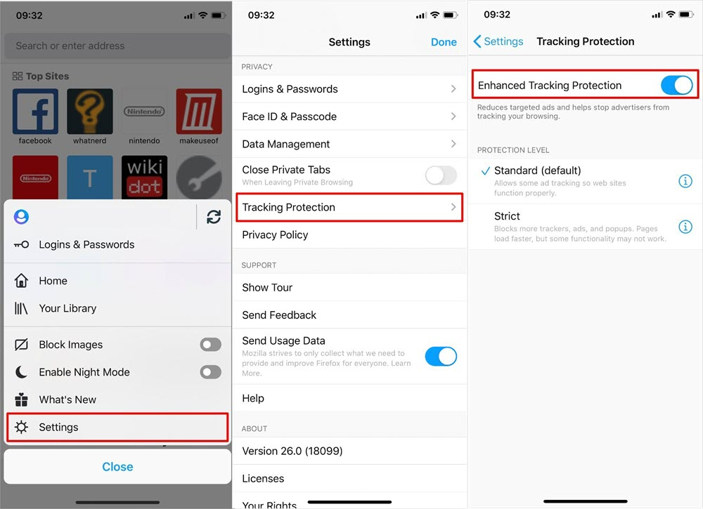 Disable Ad Tracking