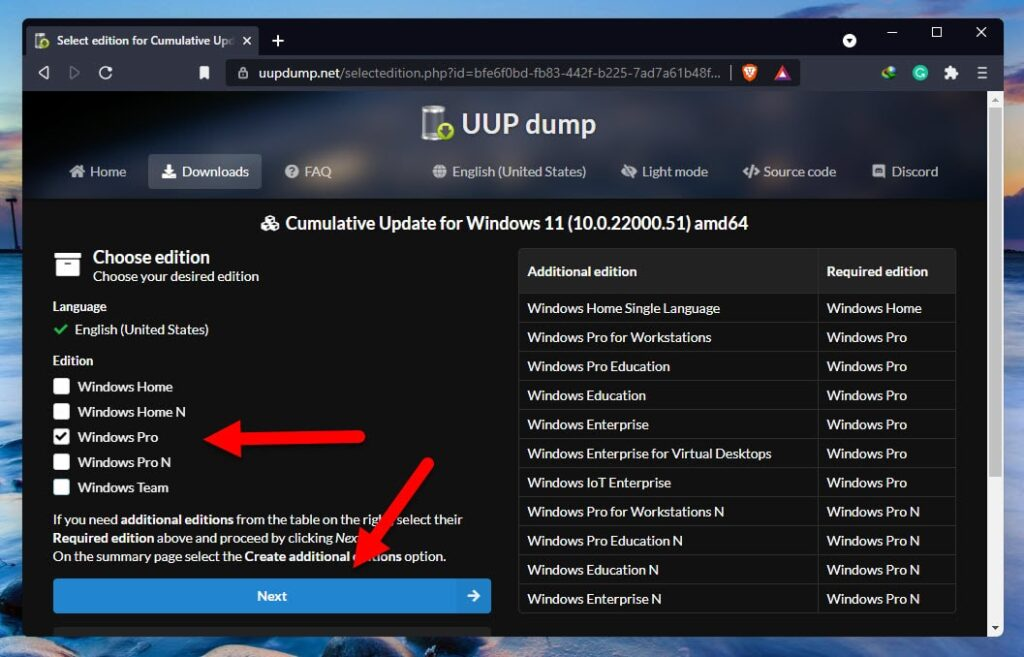 Download Windows 11 ISO Image