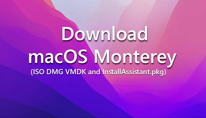 Download macOS Monterey
