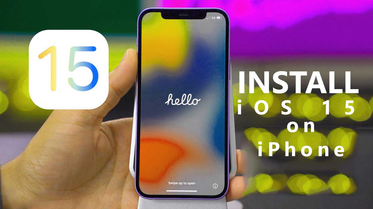 Install iOS 15 on iPhone