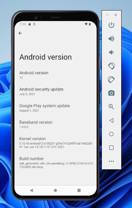 Install Android 12 on PC