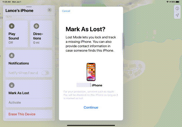 Find a Lost iPhone